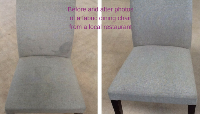 A&G Chem-Dry Upholstery Cleaning Before and After