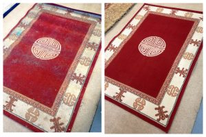 Clean Fresh Rugs - Before and After