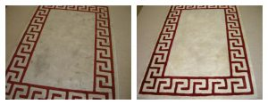 Clean Fresh Rugs - Before and After - A&G Chem-Dry