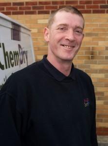 Barry Cowie - Technician, A&G Chem-Dry