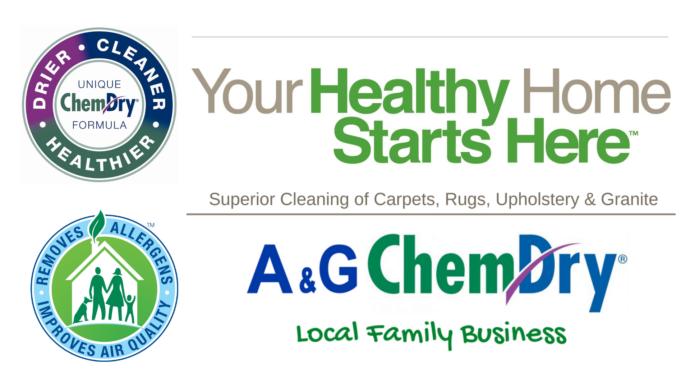 A&G Chem-Dry - 3 for 2 Offer - Clean and protect - Superior Cleaning of Carpets Rugs Upholstery & Granite