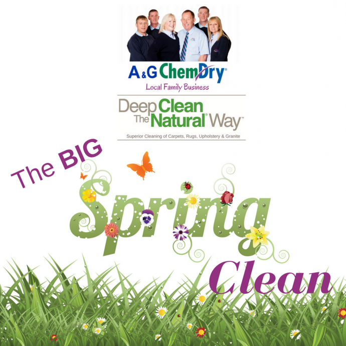 The BIG Spring Clean Offer 2018 - Deep Clean The Natural Way - A&G Chem-Dry