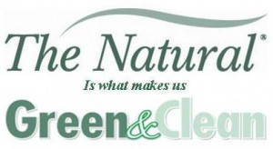 The Natural is What Makes Us Green & Clean