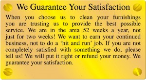 Guarantee of Satisfaction