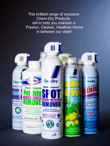 Chem-Dry Products to help you maintain a Fresher, Cleaner, Healthier Home in between our visits!