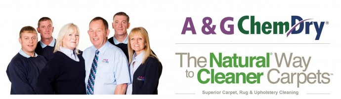 A&G Chem-Dry The Natural Way To Cleaner Carpets  Rugs and Upholstery.