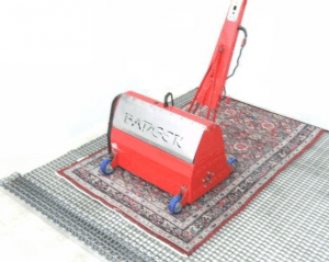 The Rug Badger in action - A&G Chem-Dry Rug Cleaning