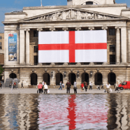 St. George's Day Nottingham - Photo courtesy of Fast Graphics Nottingham
