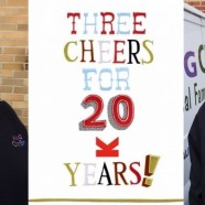 Three cheers for twenty years