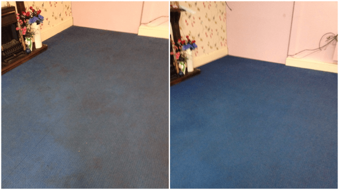 Before and After Photos - Nursing Home Carpet 5th February 2016