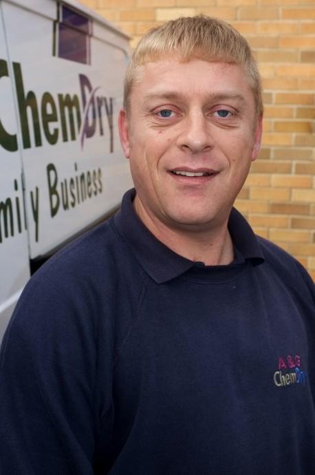 A&G Chem-Dry Technician Stuart Clark