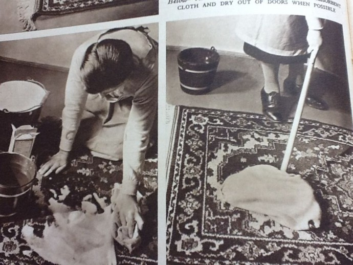 We're happy to leave old fashioned methods of carpet cleaning back in the 1950's!