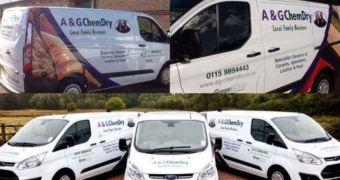 Be an A&G Chem-Dry van spotter