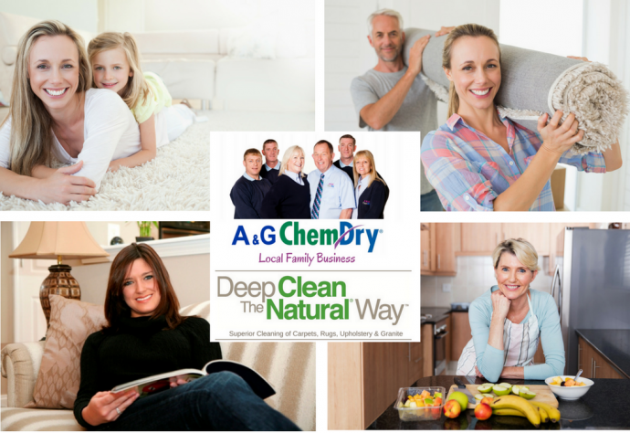 The BIG Spring Clean 2017 - Range of Chem-Dry Services