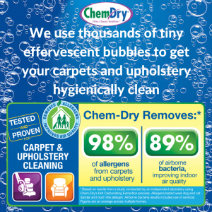 The Big Spring Clean - Carpets Rugs and Upholstery