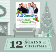 The Twelve Stains Stains of Christmas - A&G Chem-Dry Carpet and Upholstery Cleaning Nottingham Derby and Leicestershire