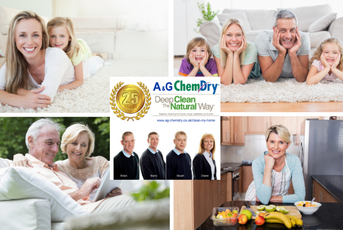 A&G Chem-Dry, Clean My Home, Key Services, Team Photo