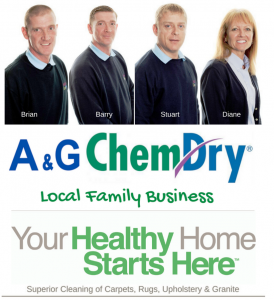 A&G Chem-Dry, A Local Family Business, Your Healthy Home Starts Here, Superior Cleaning of Carpets, Rugs, Upholstery & Granite